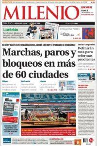 México, Milenio Foto:Milenio