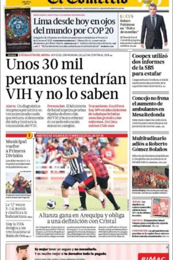Perú, El Comercio Foto:El Comercio