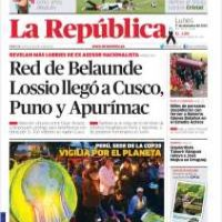 Perú, La República Foto:La Repíublica
