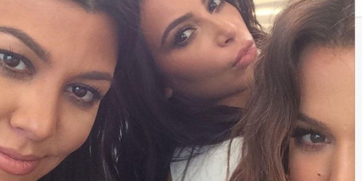 FOTOS: Así se ven las hermanas Kardashian sin maquillaje