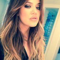 Khloé Kardashian aparece pocas veces sin maquillaje. Foto:Instagram