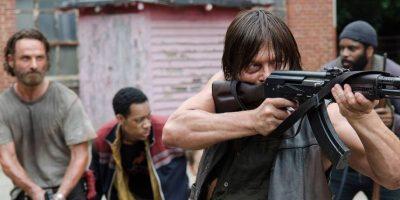La serie se sitúa en un mundo post-apocalíptico y es protagonizada por Rick Grimes Foto:AMC