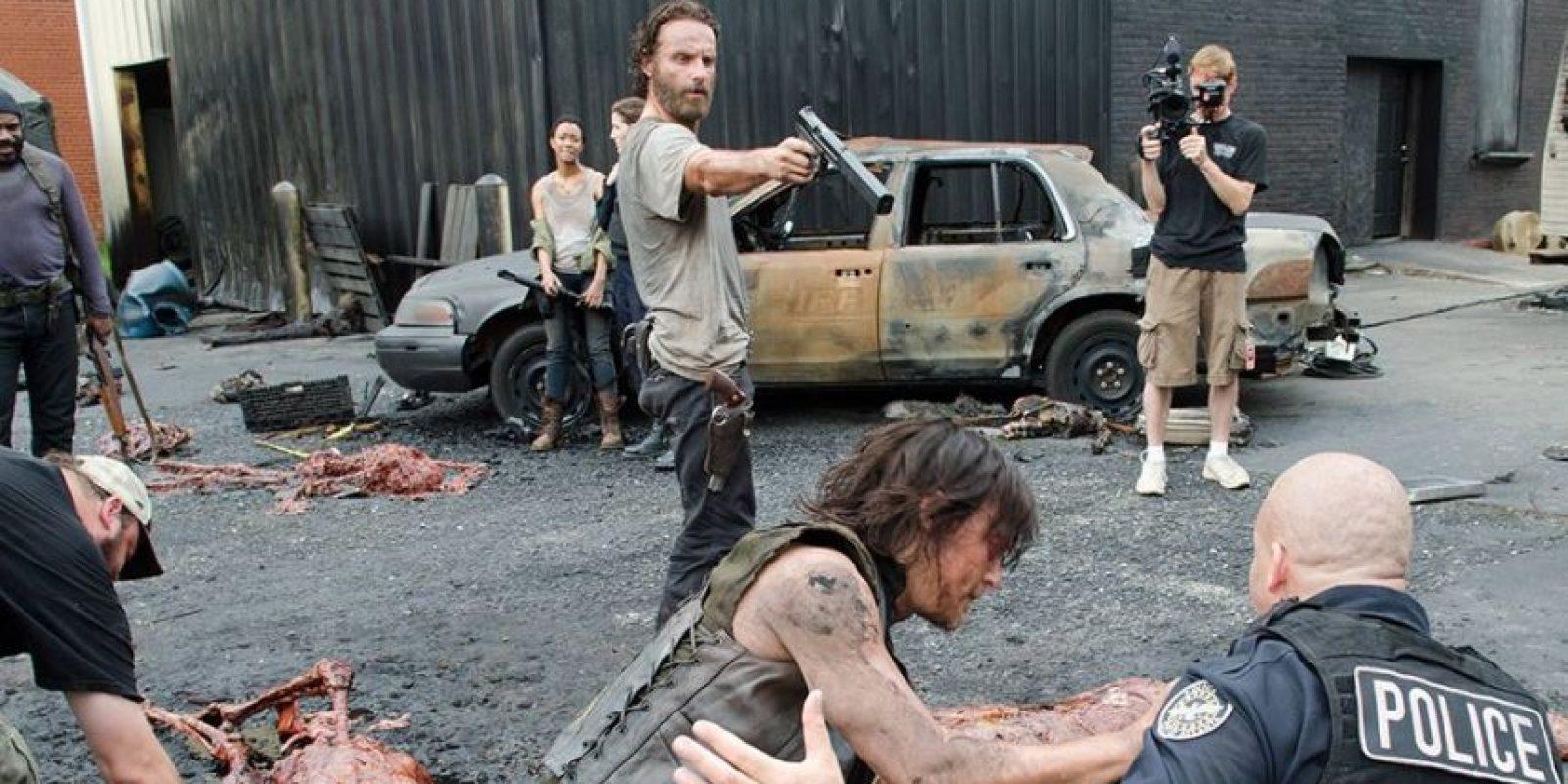La serie es creada y producida por Frank Darabont Foto:AMC