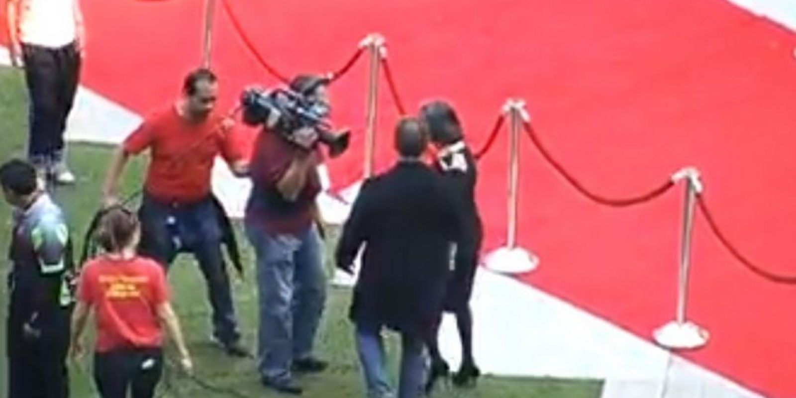 Florinda Meza le reclamó al trabajador Foto:FRE ZAGUE