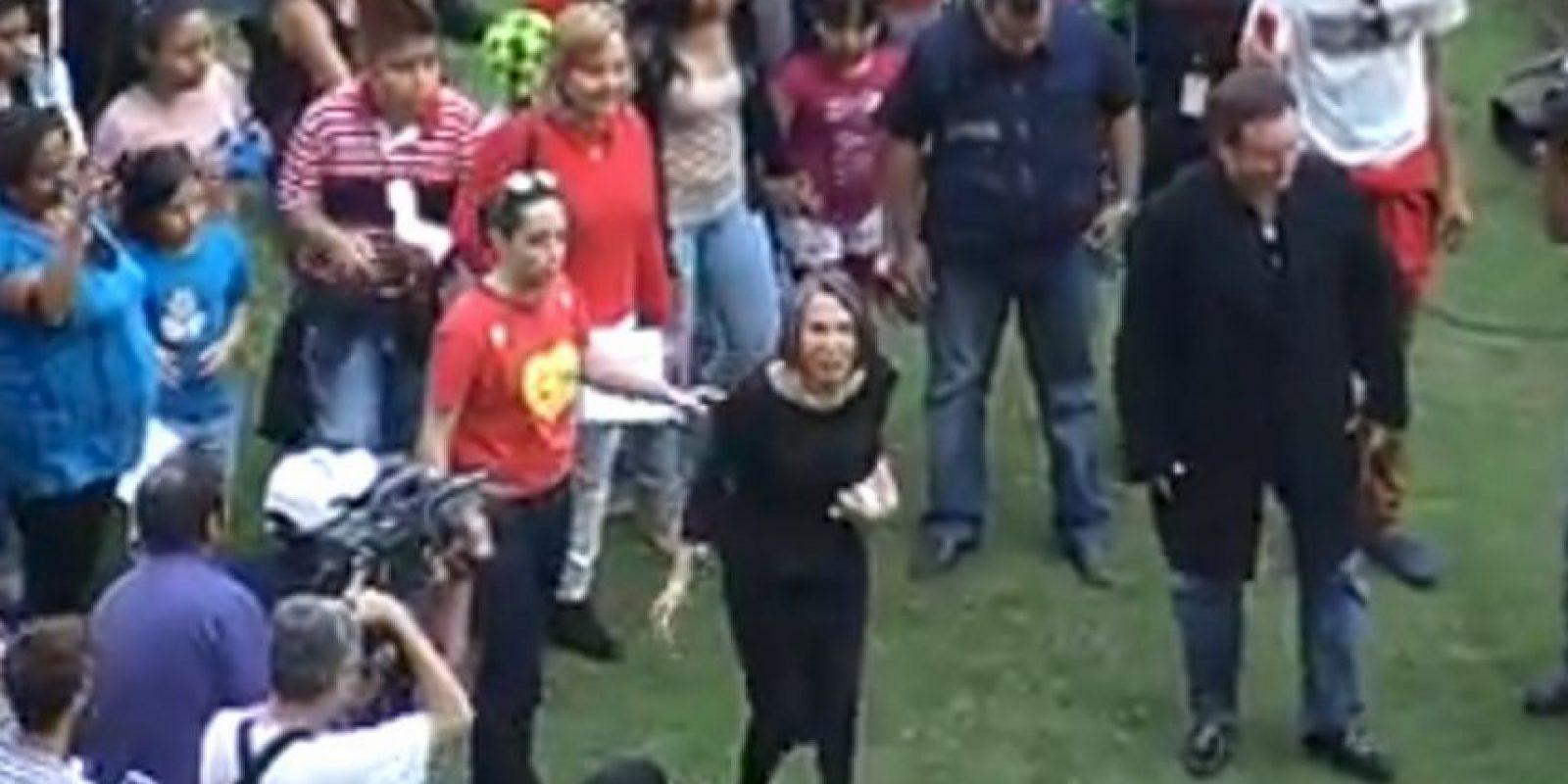 """La viuda de """"Chespirito"""" tuvo un percance Foto:FRE ZAGUE"""