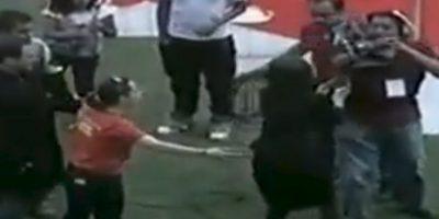 """VIDEO: Florinda Meza se enojó con camarógrafo en homenaje a """"Chespirito"""""""