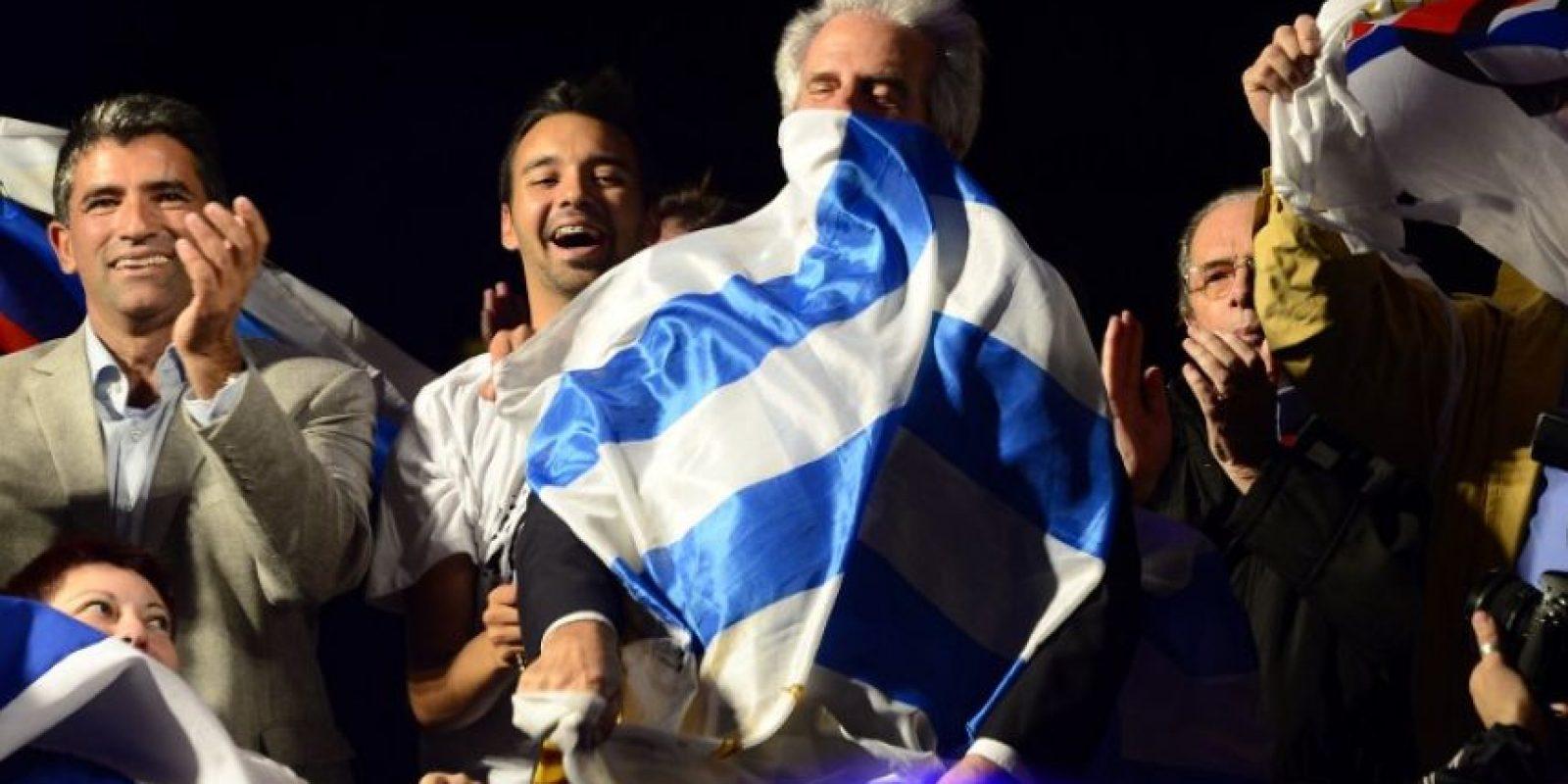 Segunda vuelta electoral en Uruguay. Regresa a la presidencia Tabaré Vázquez, presidente de 2000 a 2005. Foto:AFP
