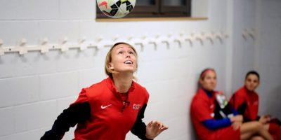 Stephanie Roche es una futbolista irlandesa Foto:AFP