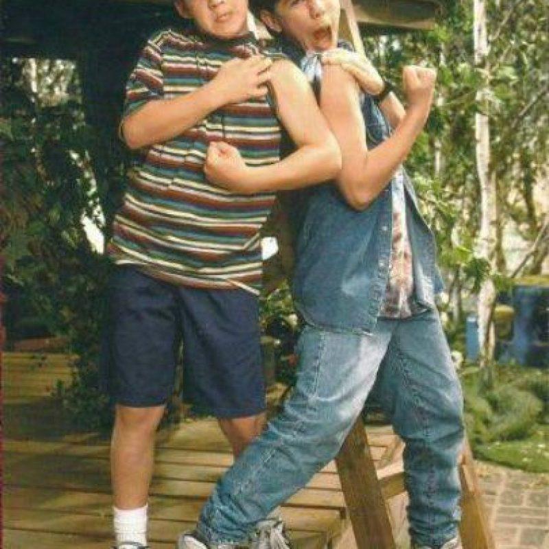 A la izquierda, Cory Matthews (1993) Foto:Facebook: Ben Savage