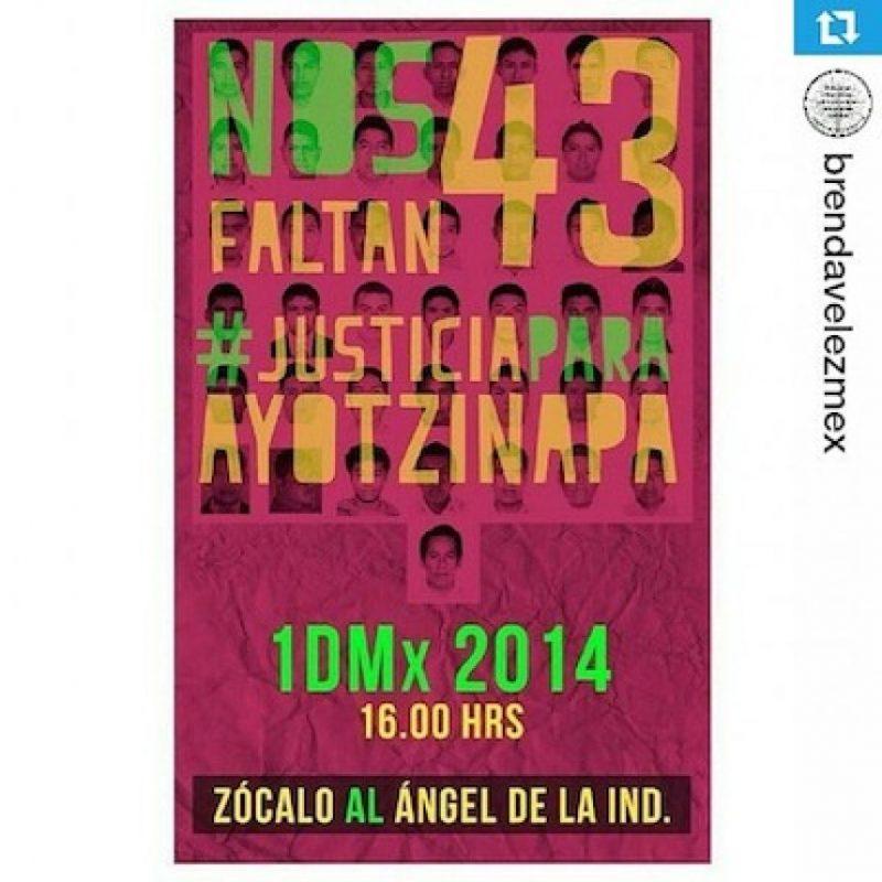 La convocatoria a la manifestación Foto:Instagram @jess_empiregirl