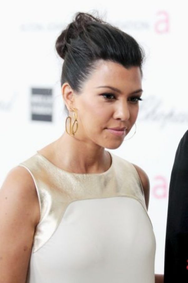 Kourtney Kardashian nació en Los Ángeles Foto: Getty Images