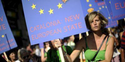 Cataluña vota su independencia de España, en un referéndum no reconocido por el Gobierno Español. Foto:Getty Images