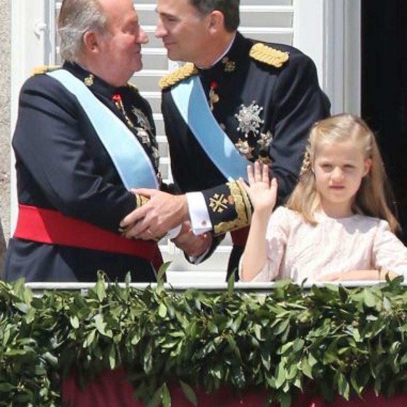 El Rey Juan Carlos I, de España, anuncia su abdicación. Foto:Getty Images