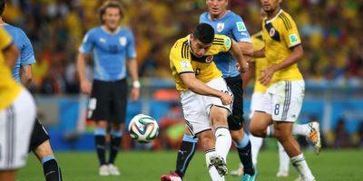 El colombiano marcó esta anotación ante Uruguay Foto:Getty Images
