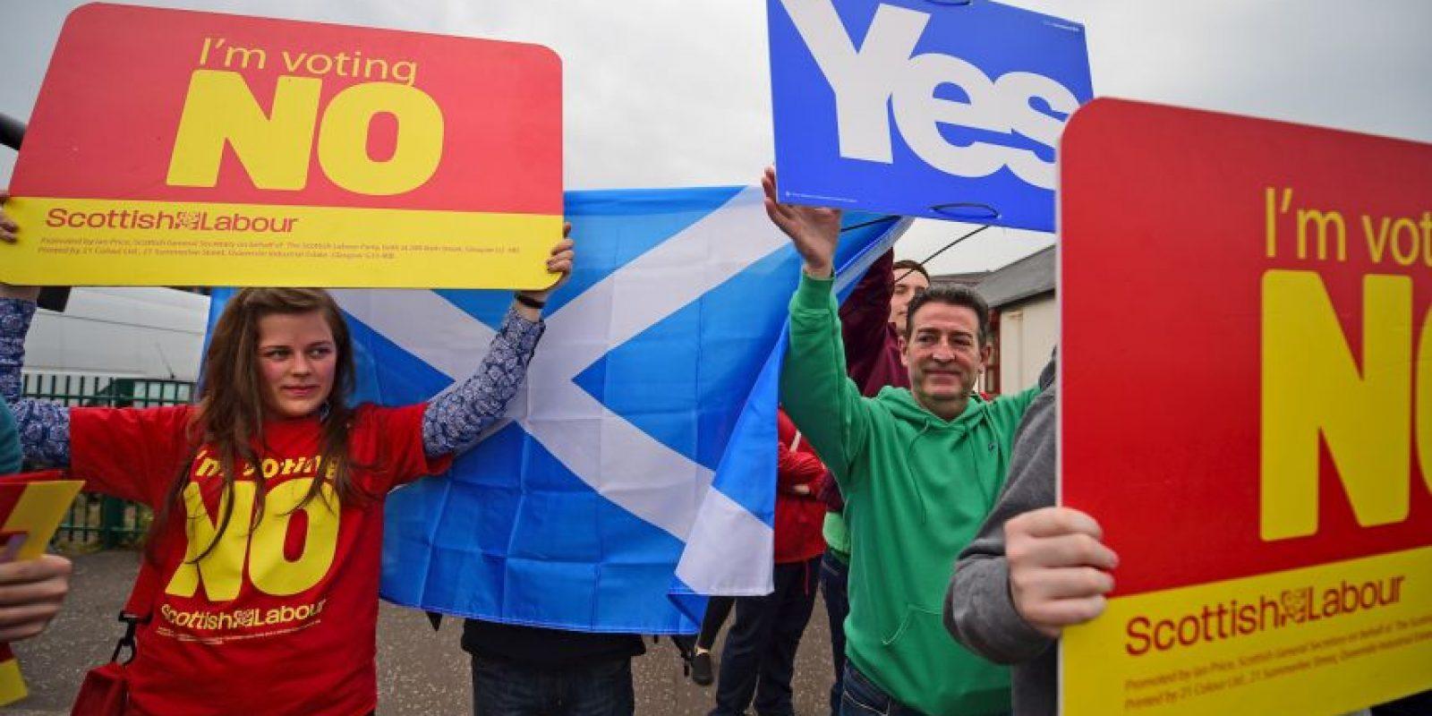 """Escocia vota """"no"""" a su independencia. Foto:Getty Images"""