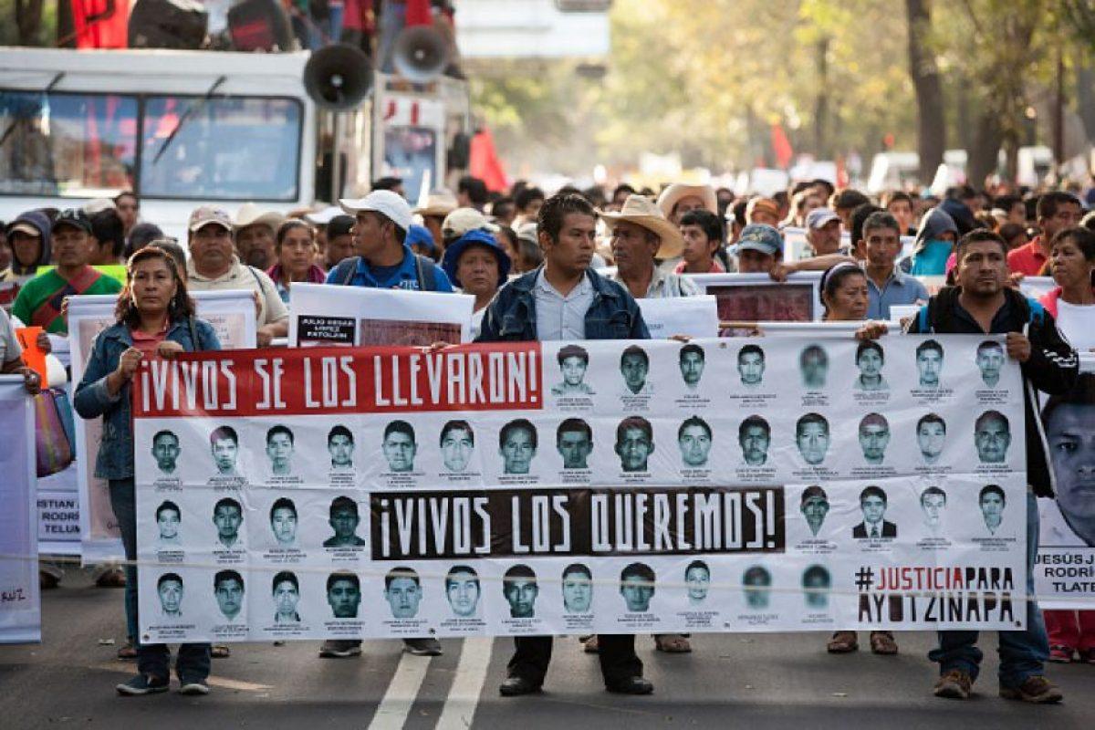 Desaparecen 43 estudiantes de Ayotzinapa, Guerrero, México. Foto:Getty Images