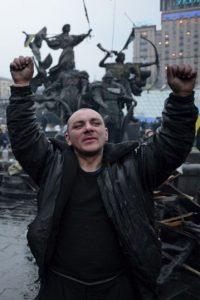 El Presidente Victor Yanukóvich abandona Ucrania, en medio de una serie de protestas Foto:Getty Images