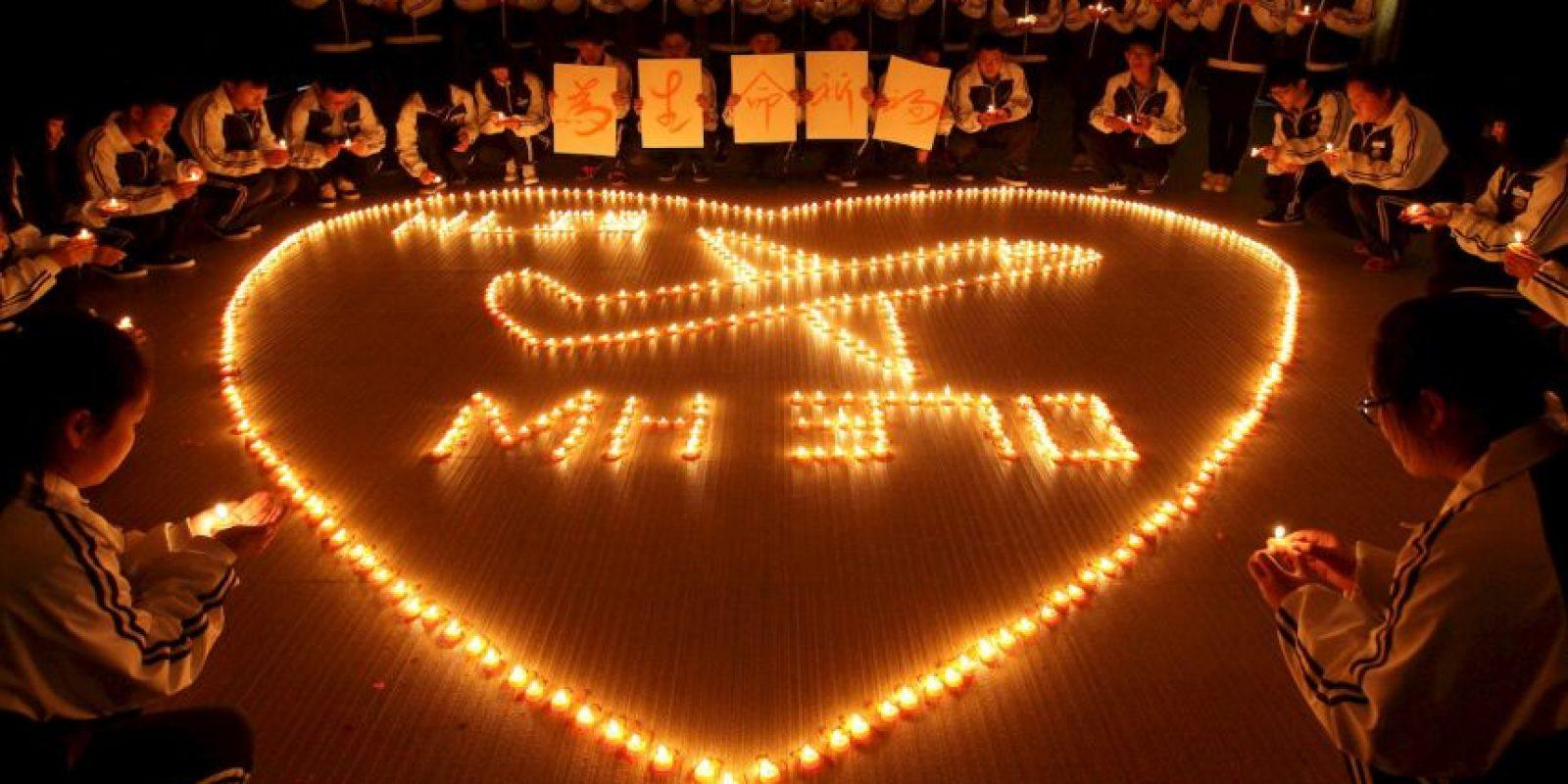 Desaparece el vuelo MH 370 de Malaysia Airlines con 239 personas a bordo. Hasta el momento no ha sido encontrado. Foto:Getty Images