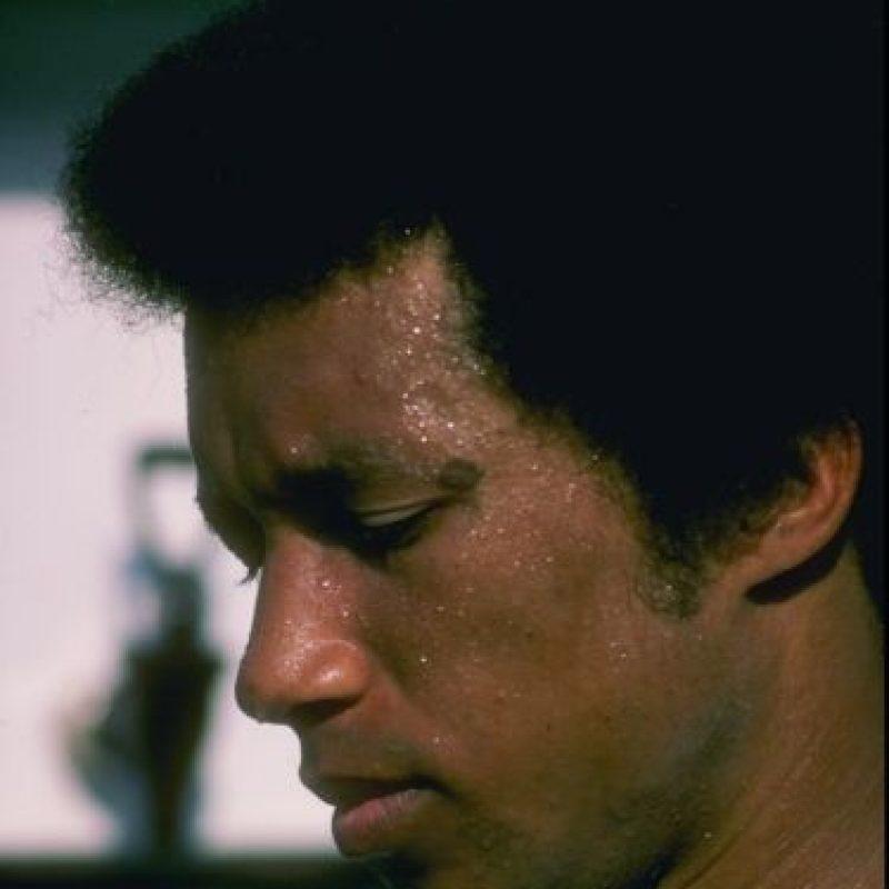 Arthur Ashe- El tenista estadounidense en Nueva York el año 1993. Foto:Getty