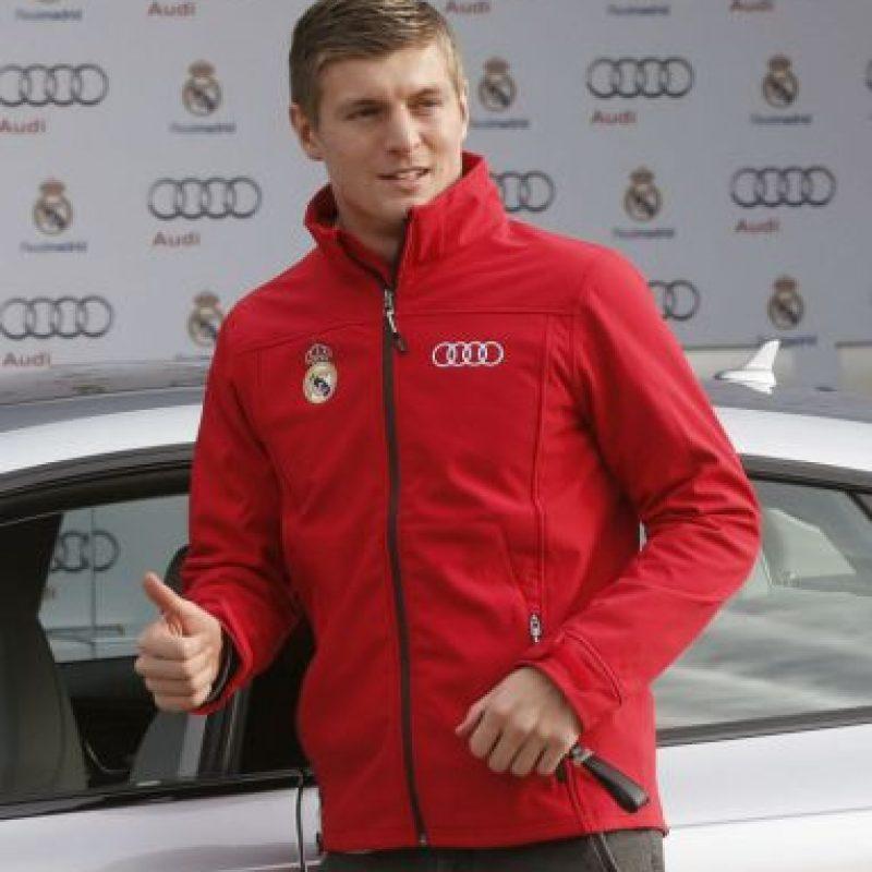 El alemán prefirió un Audi S7 Sportback Foto:AFP