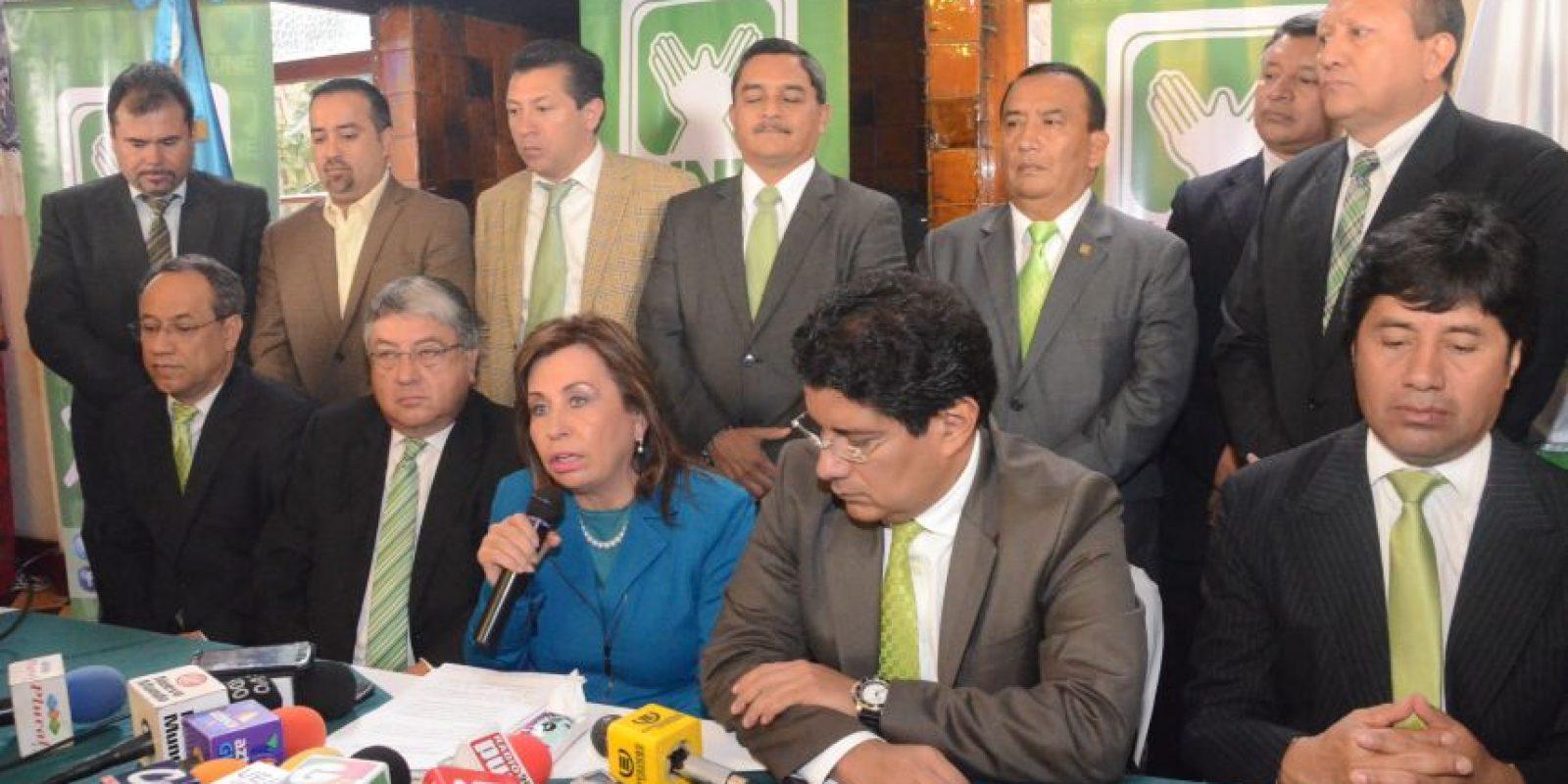 La precandidata presidencial de la UNE le pedirá a la CICIG que investigue la compra de votos. Foto:José Castro