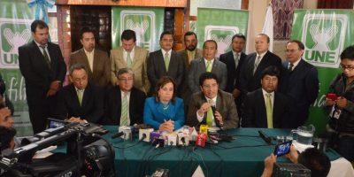 Carlos Barreda, diputado de la UNE, afirmó que se dejó a un lado la inversión para combatir la pobreza. Foto:José Castro