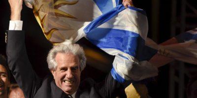 Tabaré ya había sido Presidente de Uruguay. Foto:AP
