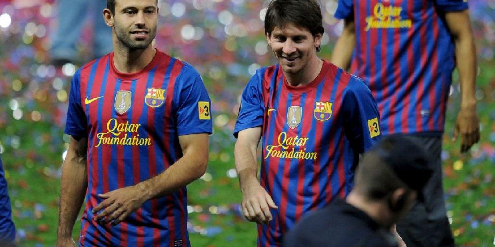 El Barça de 2012 Foto:Getty