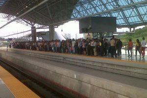 Panamá inaugura su metro. Es el primero en toda América Central. Foto:Twitter arceboby