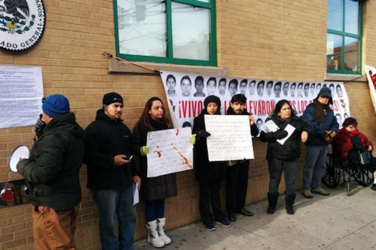 Consulado General de México en Chicago, Estados Unidos Foto:Twitter Desinformemonos