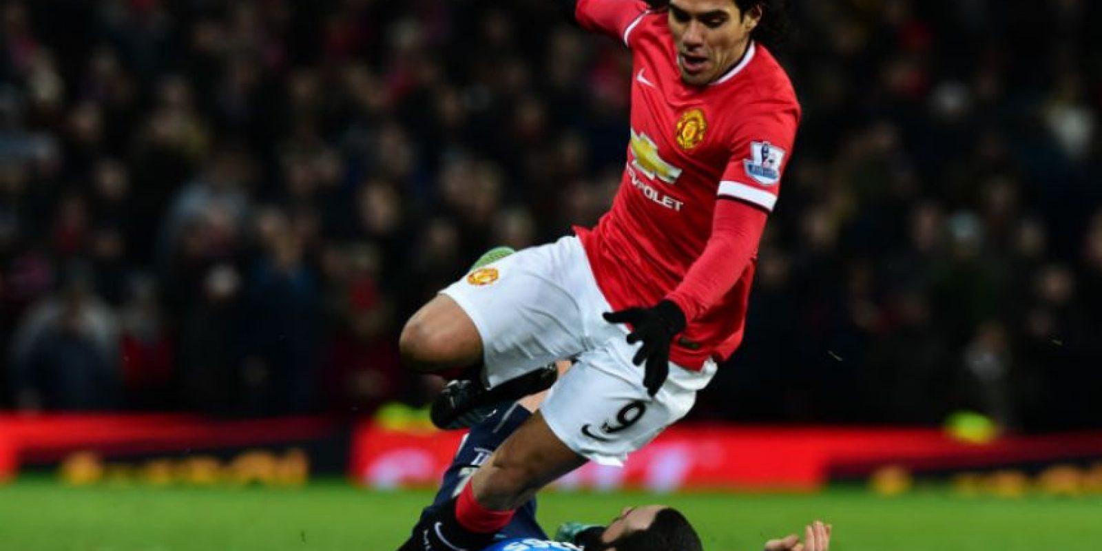 El colombiano no pudo figurar en el juego ante el Stoke City. Foto:AFP