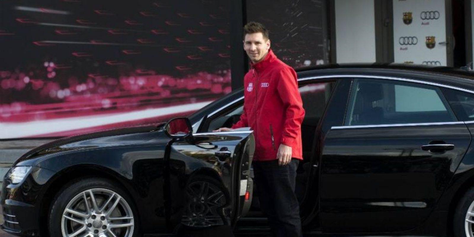Eligió un Audi A7 Foto:fcbarcelona.es