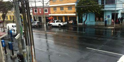 Así luce la avenida Elena, zona 3. Foto:PMT de Guatemala
