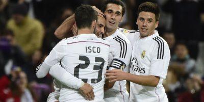 El Madrid remató la serie contra el Cornellá, al que venció 5-0. Foto:AFP