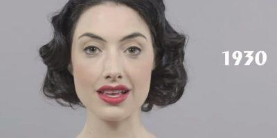El cabello con ondas, las cejas delineadas y los rasgos marcados predominaron en los años 30 Foto:Cut