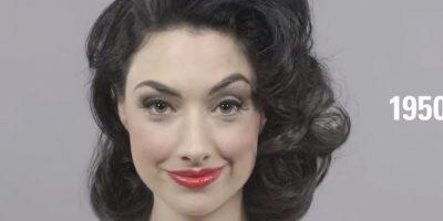 """En los años 50 hubo más sensualidad. Los cabellos fueron menos rizados. El rojo en todos sus tonos se impuso, así como el """"cat eye"""". Foto:Cut"""