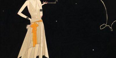 """La """"flapper"""" comenzó a dominar el ámbito femenino. Cuerpos esbeltos, androginia y liberación del corsé, mas vestidos holgados, hicieron parte del estilo de la mujer de moda. Foto:Vogue"""