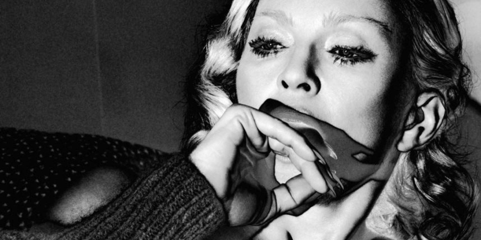 Su nomre completo es Madonna Louise Veronica Ciccone Foto:InterviewMagazine.com
