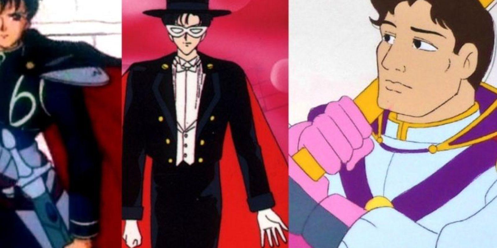 Darien/Mamoru/Príncipe Endimion/Tuxedo Mask era así en la versión gringa. ¿Cual es el suyo? Foto:Moonsisters