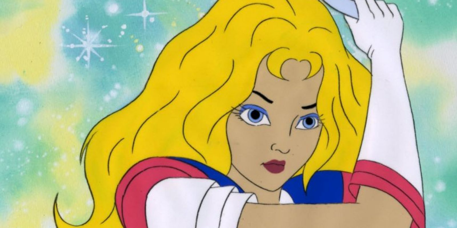 Ella era una princesa de un planeta destruido que usaba discos de poder. Foto:Saban/Toon Makers