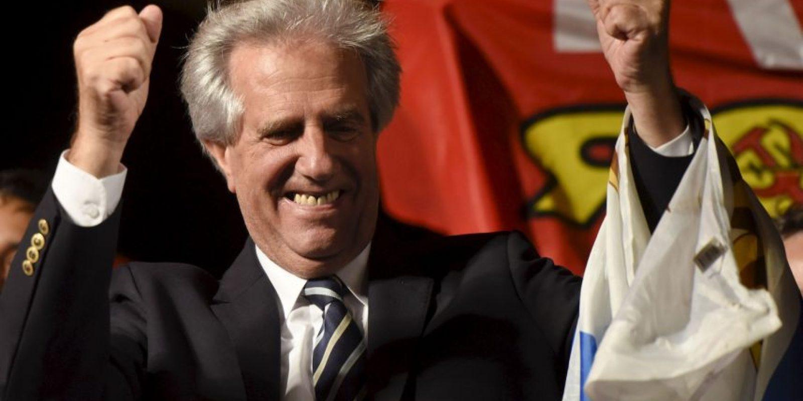 Tabaré Vázquez encabezará el Gobierno uruguayo el próximo año. Foto:AP