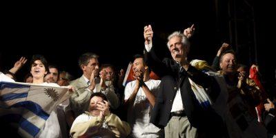 Vázquez promete un Gobierno de unidad. Foto:AP