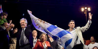 Tabaré quiere consolidar la imagen de Uruguay en el mundo. Foto:AP
