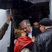 Vázquez también es un muy cercano a la gente. Foto:AP