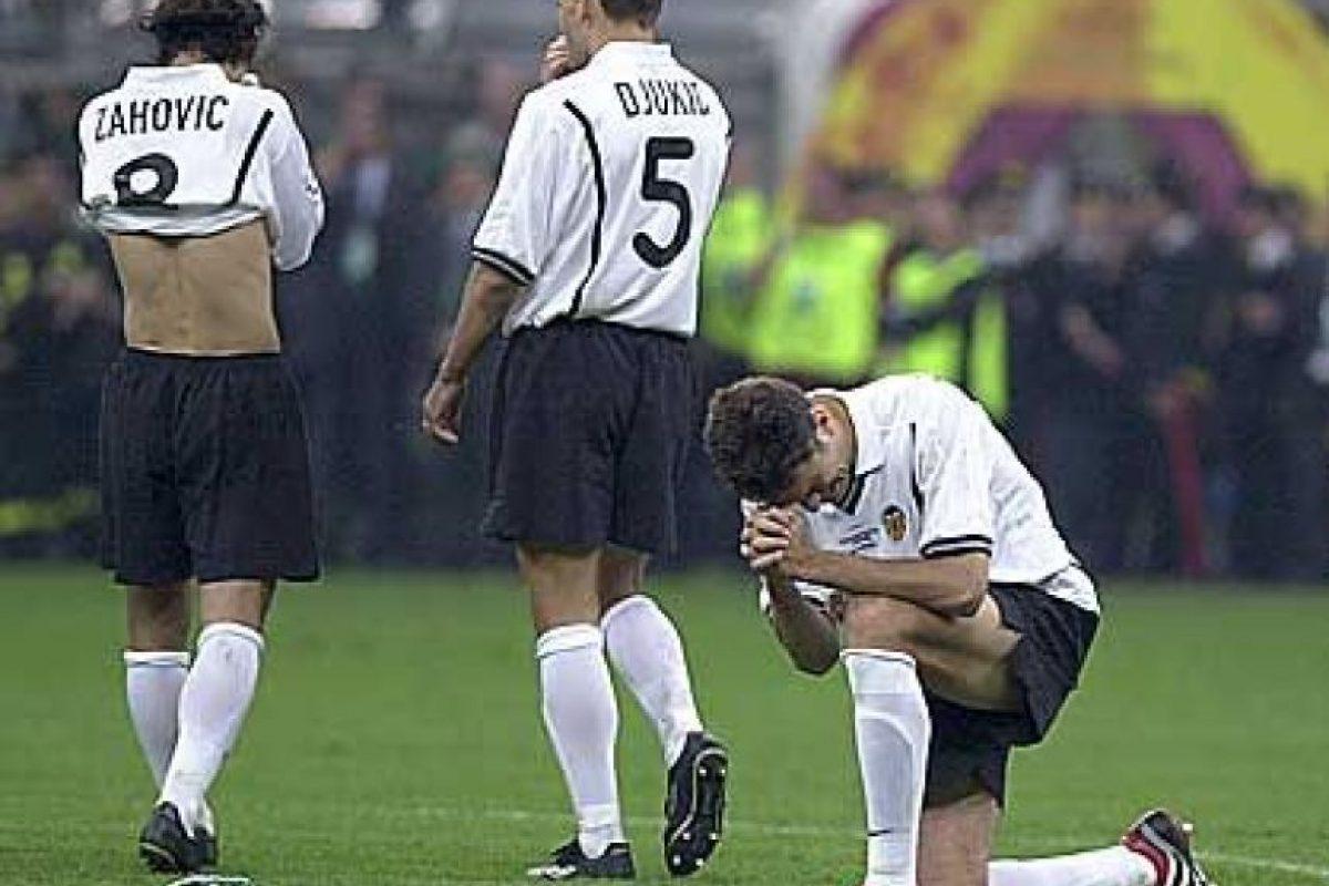 En 2001 el cuadro valencianista se quedó al margen después de su derrota contra el Guadix. Foto:Publinews