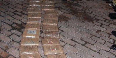 Incautan mil 200 kilos de cocaína en costa del Pacífico