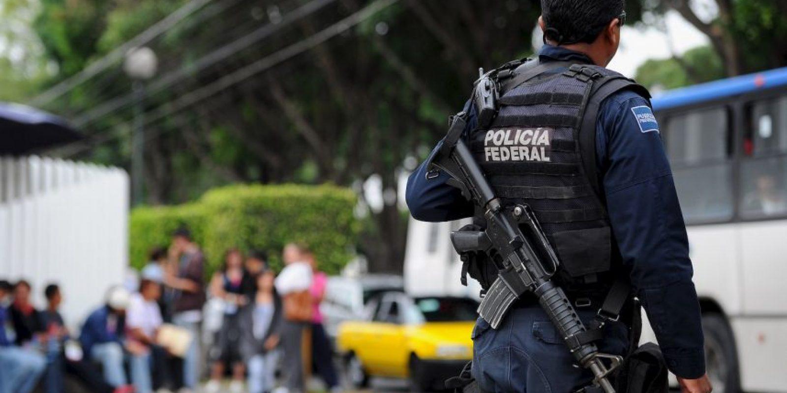 La Policía Federal de México Foto:Getty Images