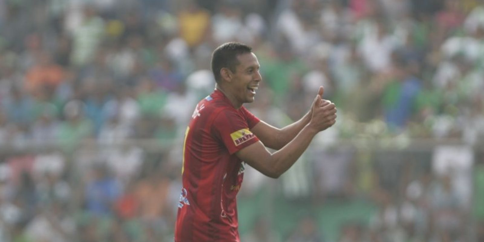 """Claudio """"el Manía"""" Albizuris fue el encargado de poner el 1-1 frente a los panzas verdes. Foto:Publinews"""