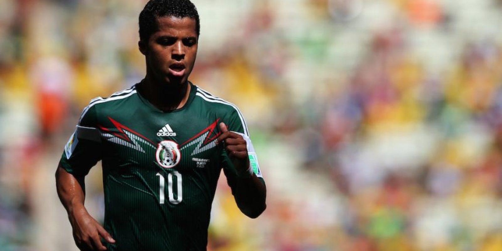 2014 – Giovanni Dos Santos, futbolista mexicano. Foto:Getty Images