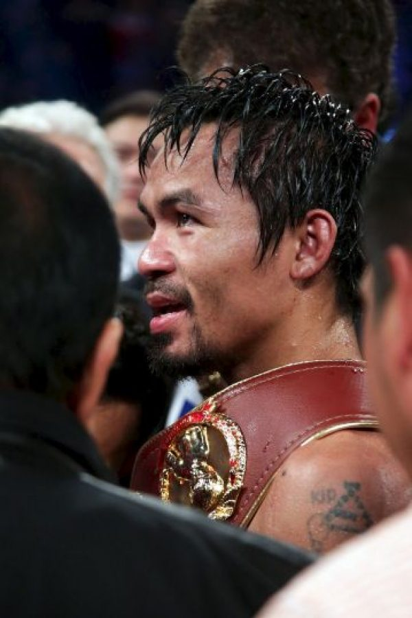 Manny Pacquiao Foto: Getty